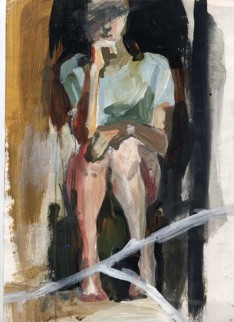 Figure with broken mirror 2